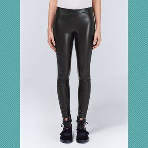 WILFRED Faux Leather Mid Rise Rebelle Leggings
